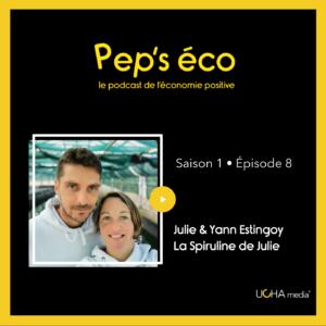 Pep's éco, Spiruline de Julie, UCHA media